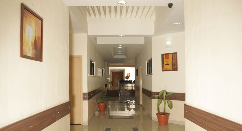 Galaxy Care Hospital Corridor
